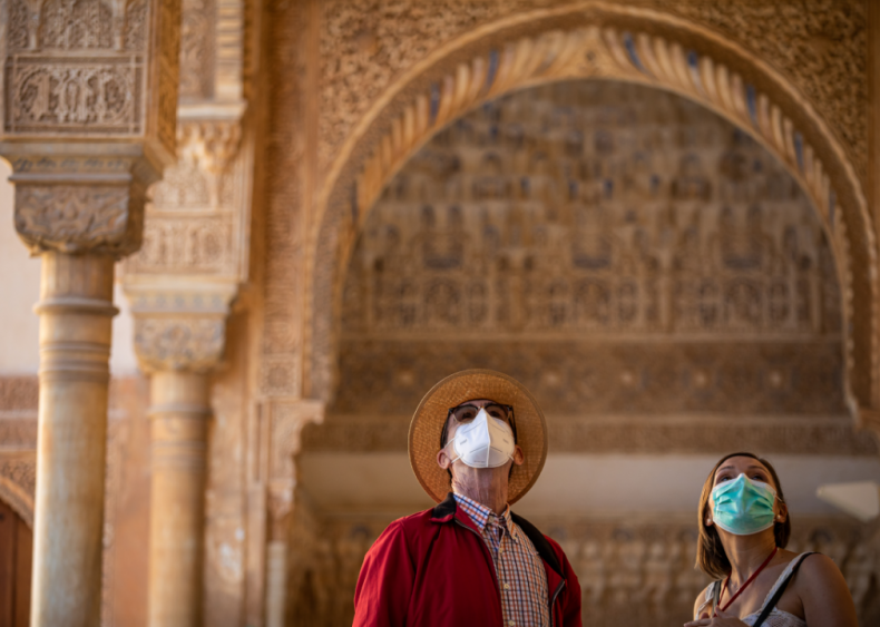 Spain's Alhambra reopens to public