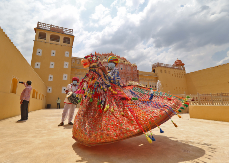Rajasthan, India reopens tourist sites