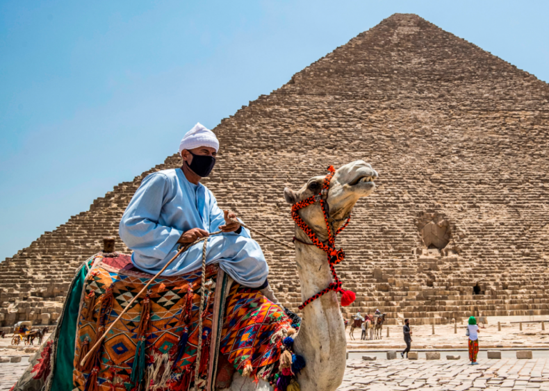 Reopening the Giza Pyramids in Egypt