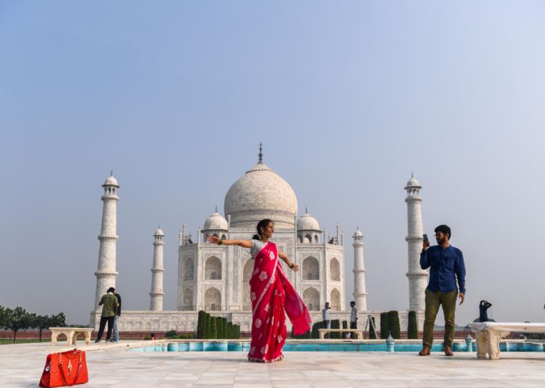 Taj Mahal reopens in India