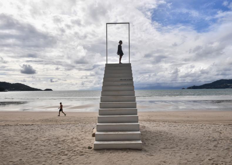 Patong Beach, Phuket, Thailand in October