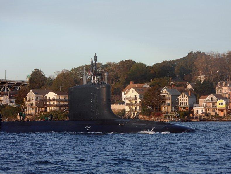 USS vermont, submarine, navy, hypersonic missiles, o'brien