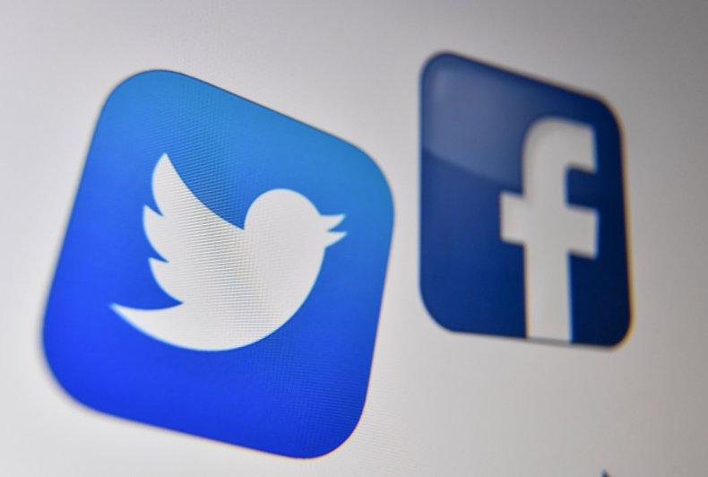 twitter fb logo