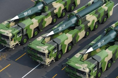 Dongfeng-17 hypersonic missiles