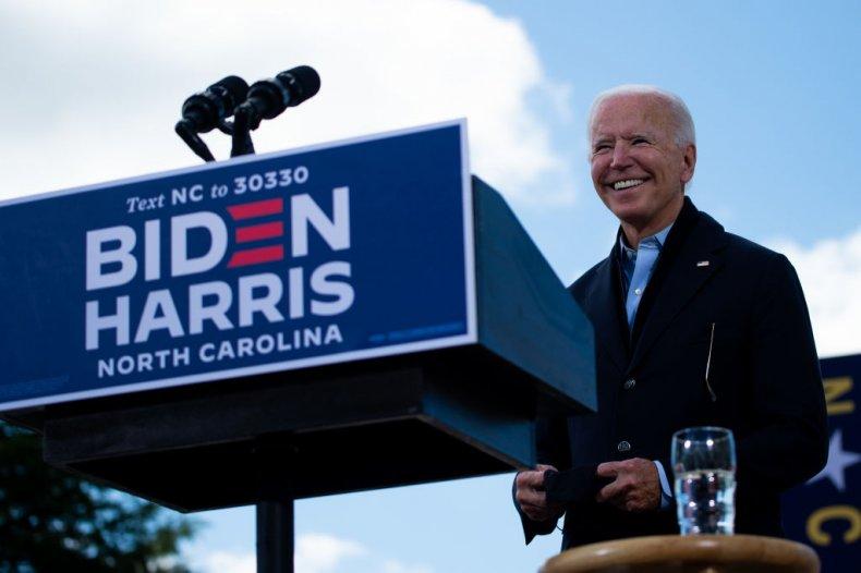 Former Vice President Biden in North Carolina