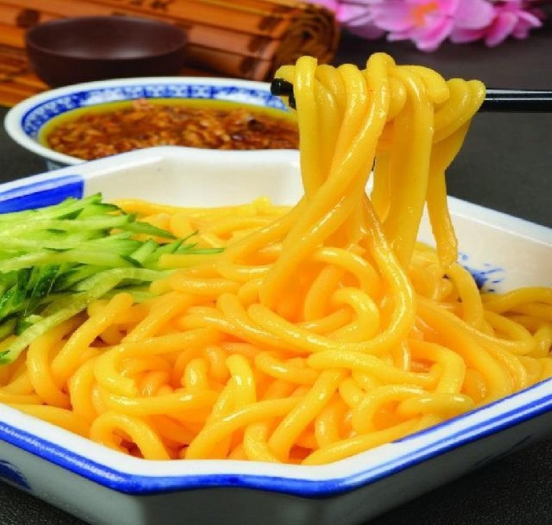 China noodles
