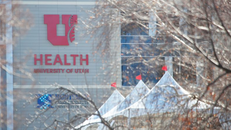 University of Utah Health hospital March 2020