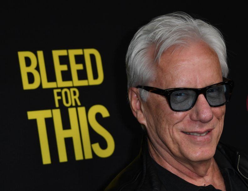 James Woods Shares Threatening Letter