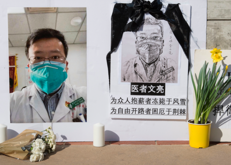 Dec. 30, 2019: Chinese doctor sounds the alarm
