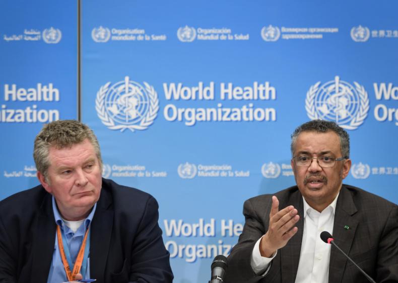 Jan. 30: WHO declares a Public Health Emergency