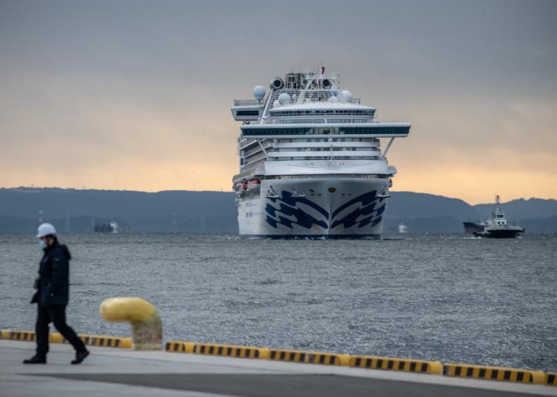 Feb. 5: Cruise ship quarantined off the coast of Japan