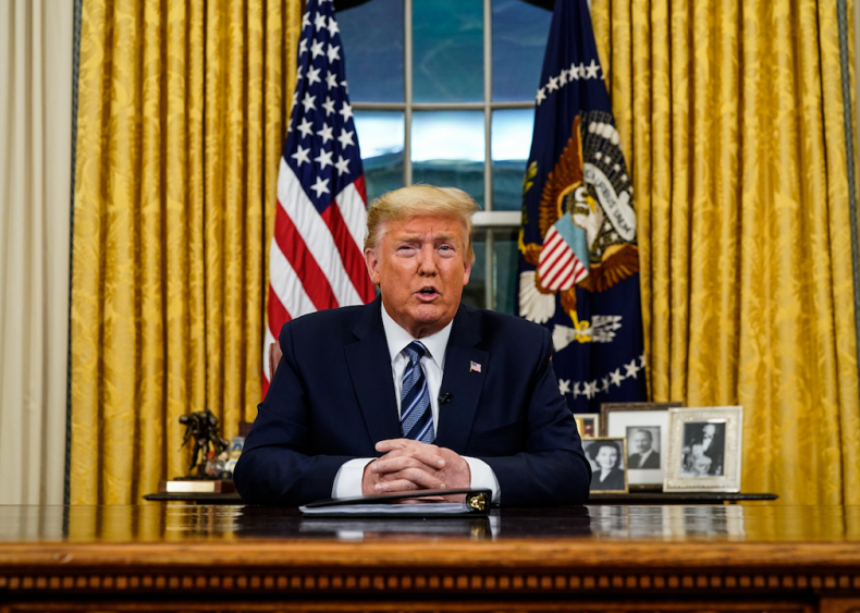 March 11: Trump announces a European travel ban—sort of