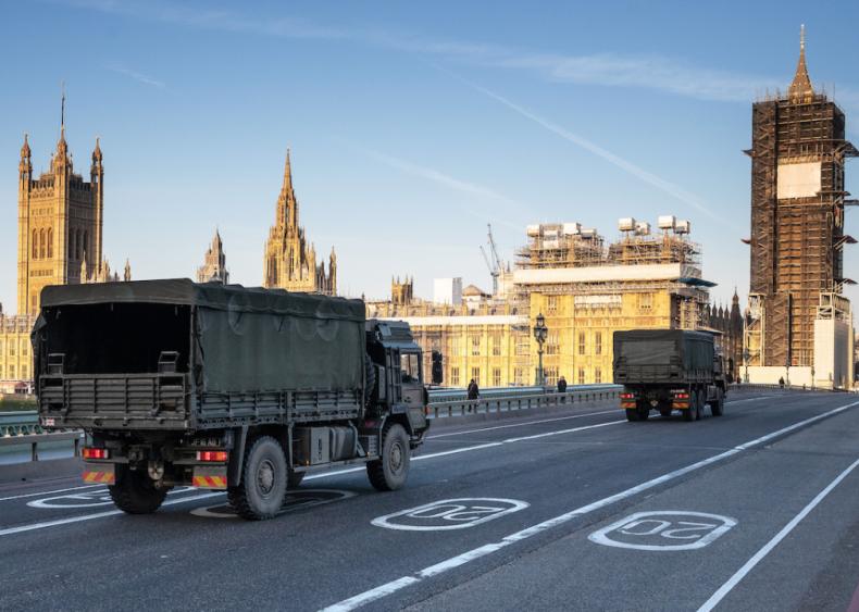 March 23: United Kingdom locks down