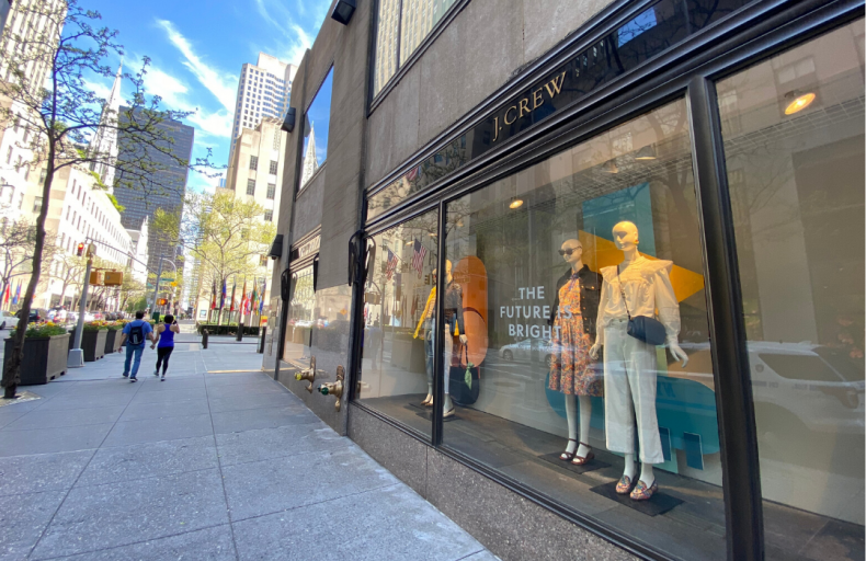 May 4: J. Crew files for bankruptcy
