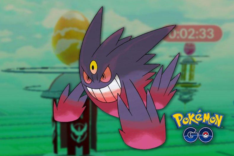 pokemon go mega gengar raid counters