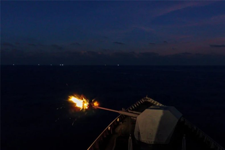 china, guided, missile, destroyer, hohhot, south, sea