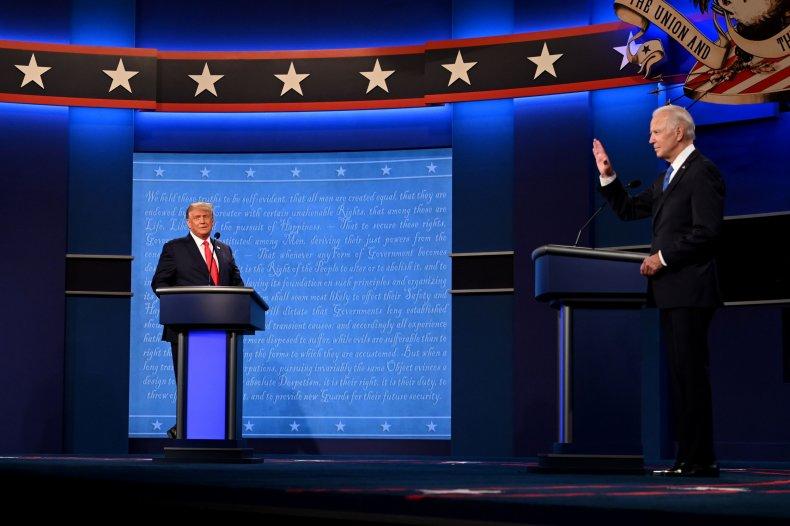 Joe Biden Donald Trump third presidential debate