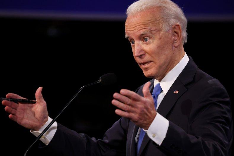 Joe Biden debate ban fracking denial truth