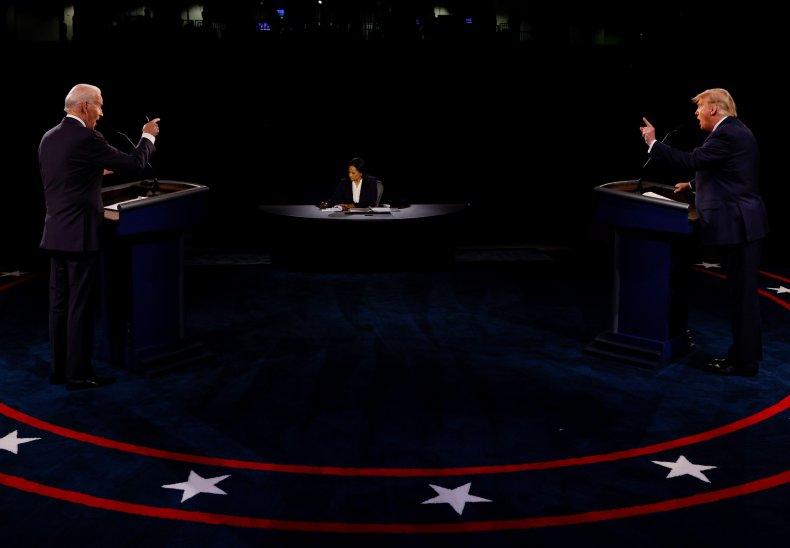 Biden, Welker and Trump