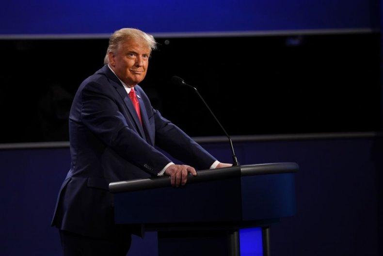 Donald Trump At Final 2020 Debate