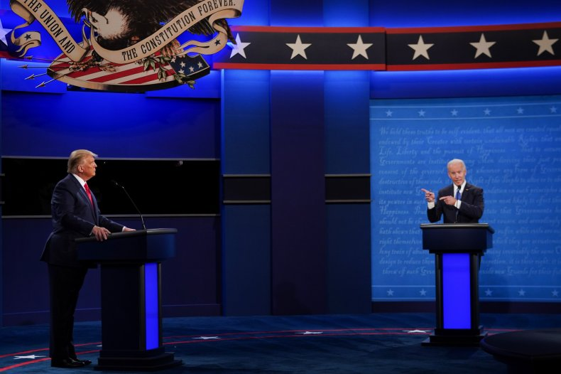Joe Biden, Donald Trump, debate, Twitter, Nashville