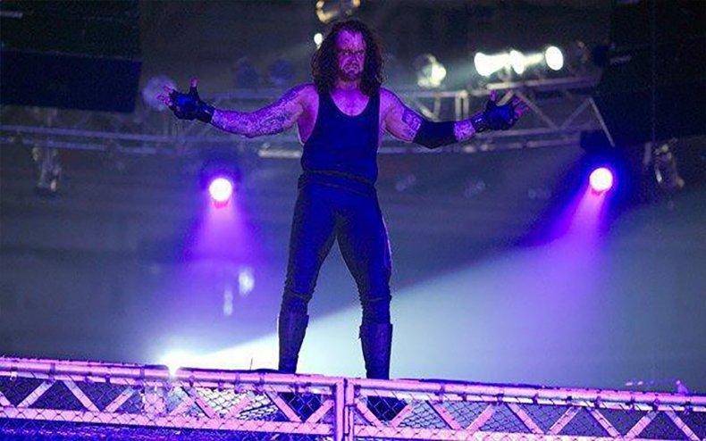 wwe undertaker randy orton hiac armageddon