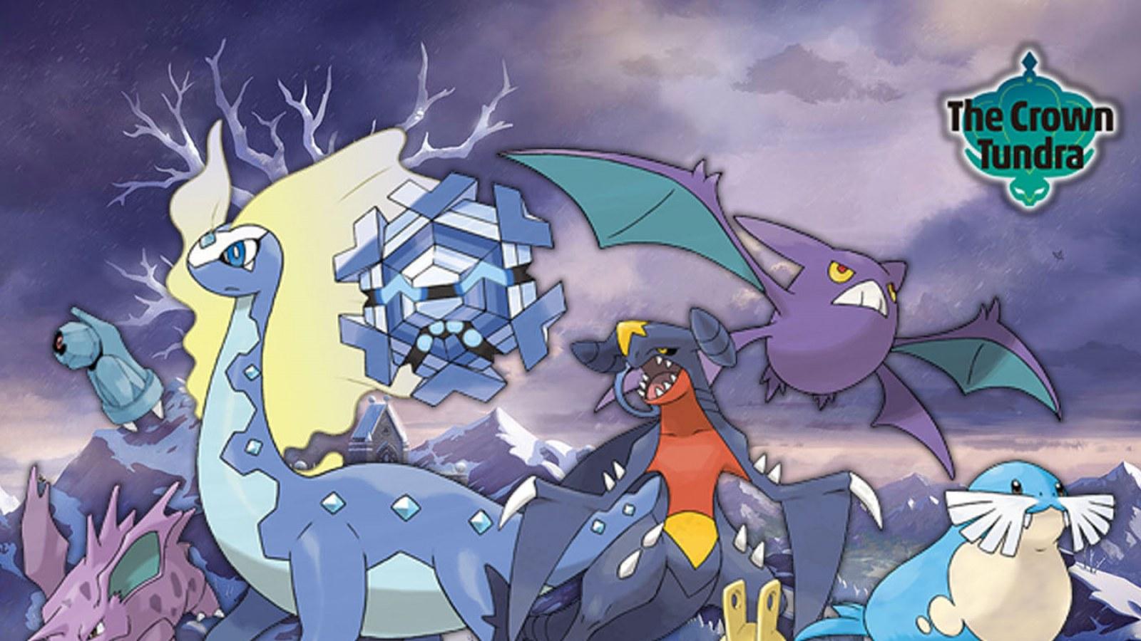 Pokemon Sword And Shield Crown Tundra Dlc List Of Returning Pokemon