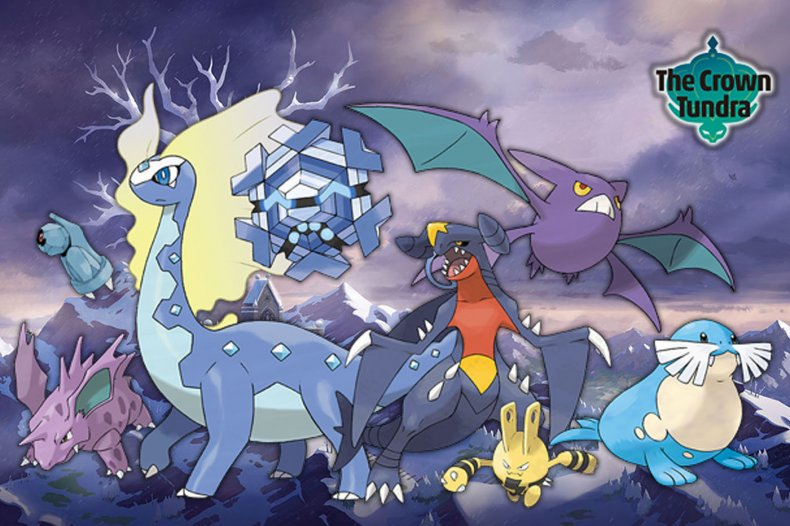 pokemon sword shield crown tundra returning pokemon
