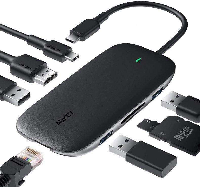Best Chromebook Gifts - USB C Hub