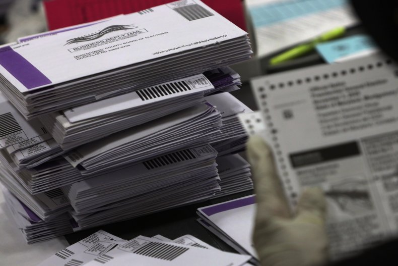 mail in voting ballots swing states