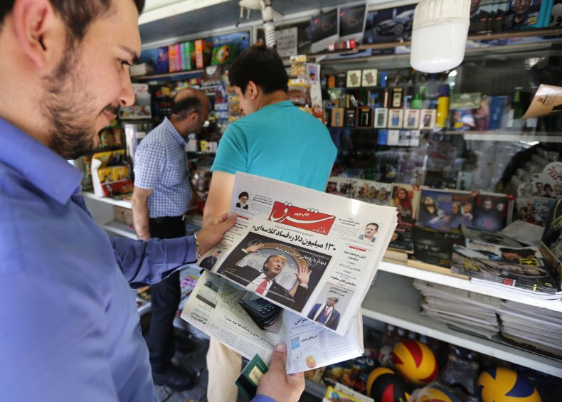 iran, newspaper, donald, trump, economy