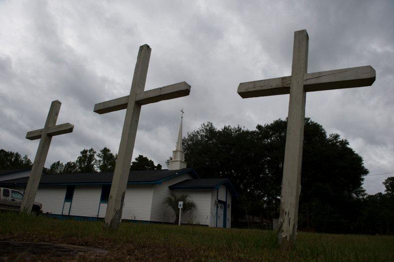 A church in North Carolina 2018