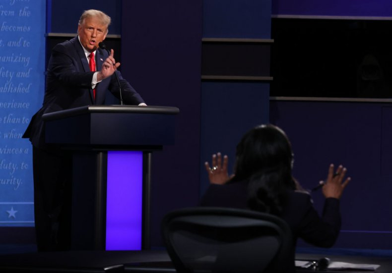 President Trump Participates in the Final Debate