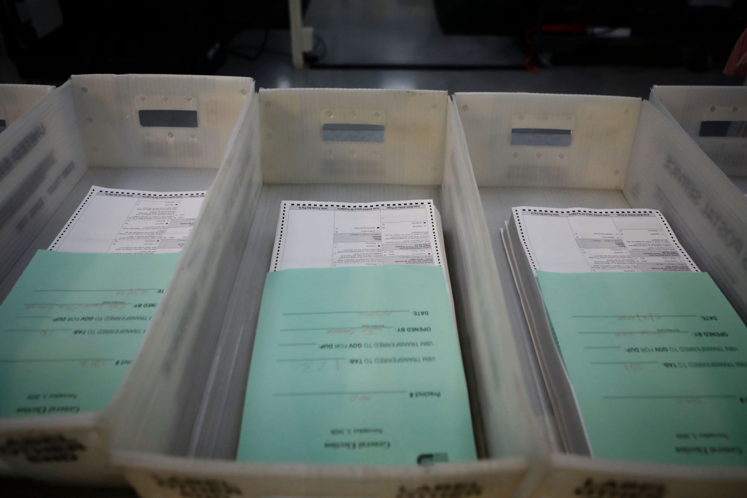 First-class mail missing arrival dates as millions vote by mail, USPS data shows