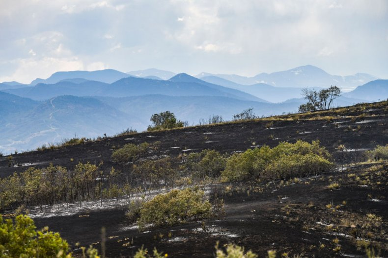 Fire Damage South of Denver in June