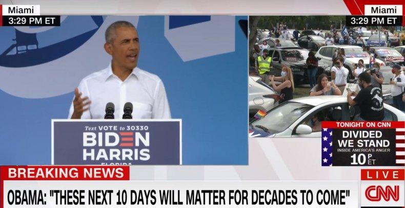 obama miami florida biden rally