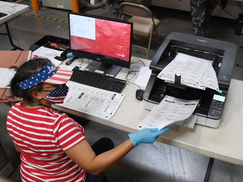 voter counting in nevada