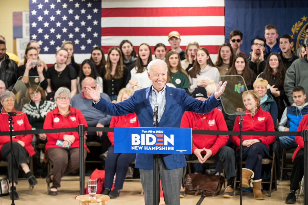 Joe Biden endorsed by New Hampshire newspaper that's supported GOP candidates for a century
