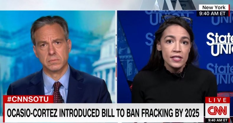aoc ocasio-cortez cnn fracking