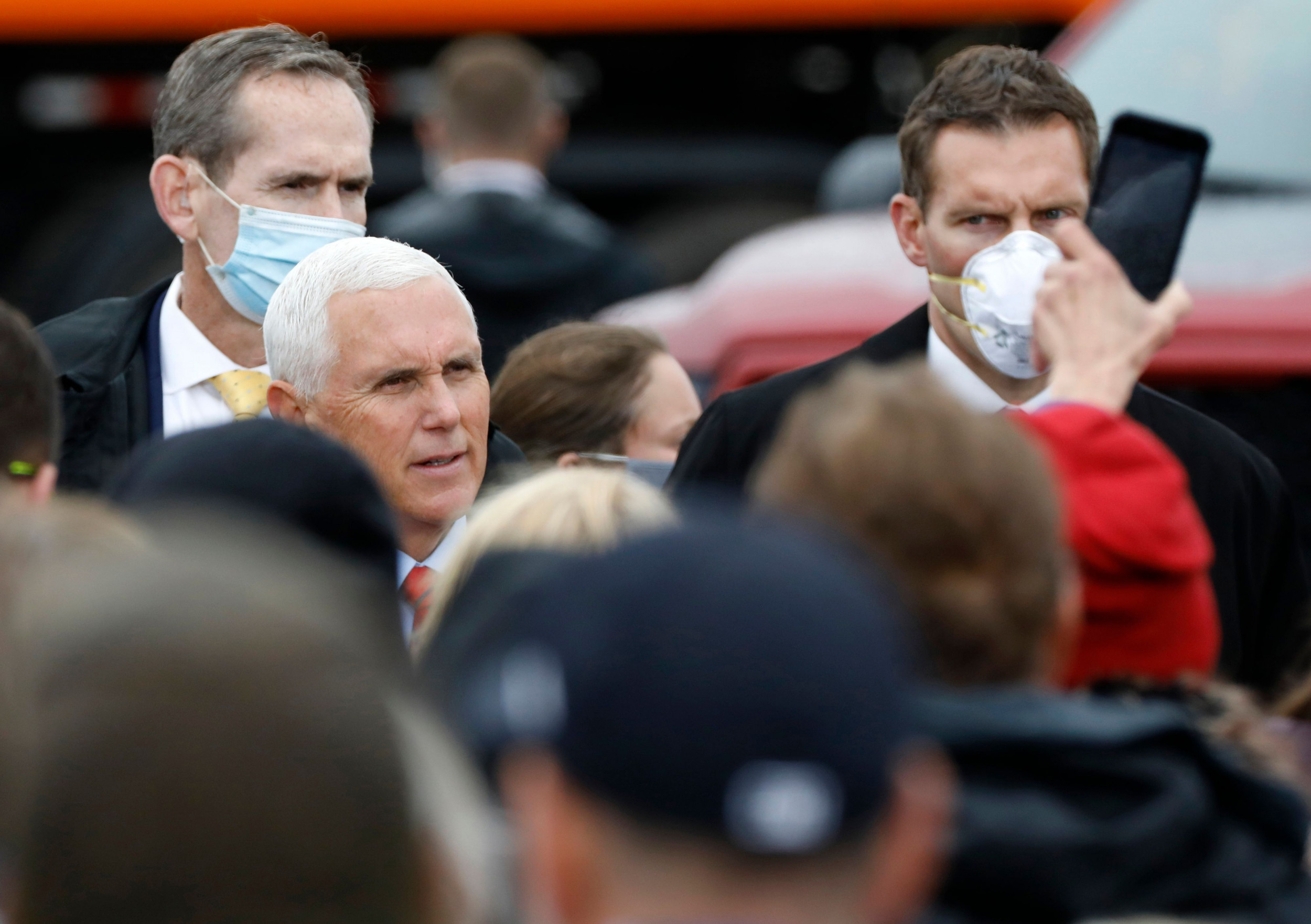 "Mike Pence to ""inexplicably"" attend Senate vote on Amy Coney Barrett despite close staff testing positive for COVID"