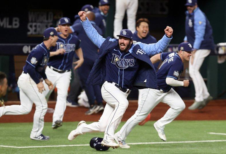 Tampa Bay Rays Celebrate