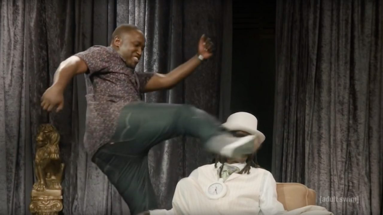 Why Hannibal Buress is leaving 'The Eric Andre Show'