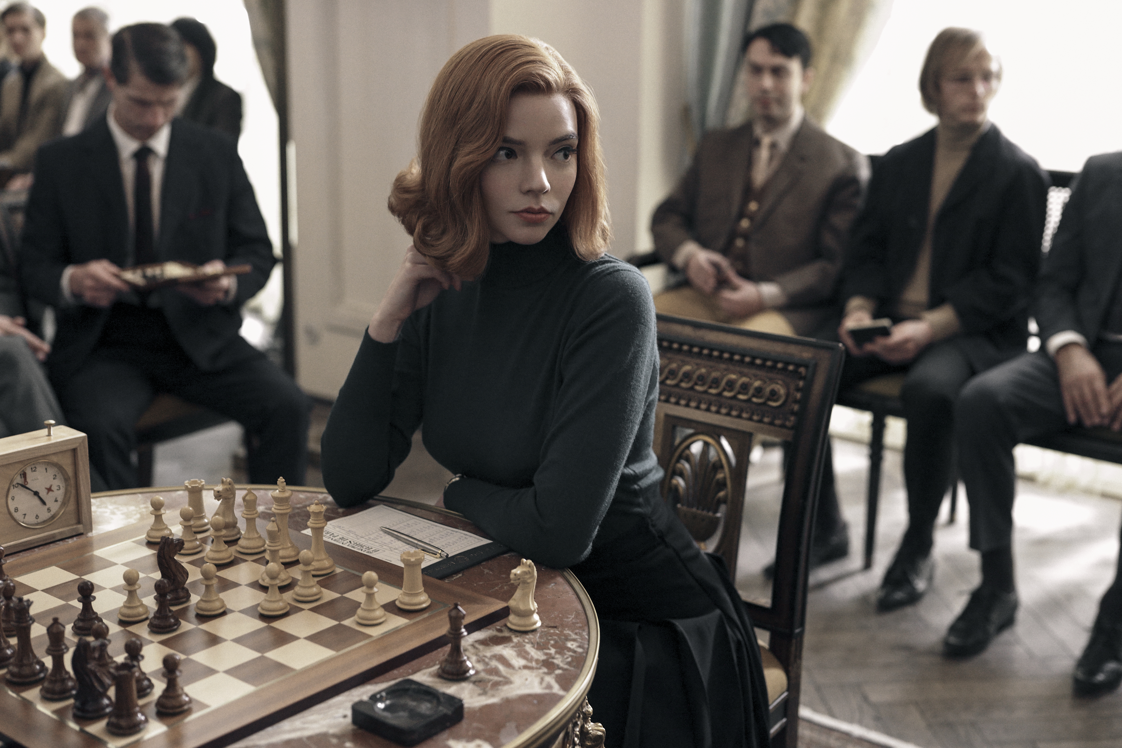 What the green pills in 'The Queen's Gambit' are