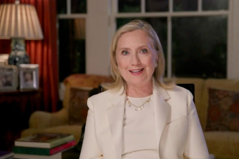 Hillary Clinton Addresses The Virtual Democratic Convention