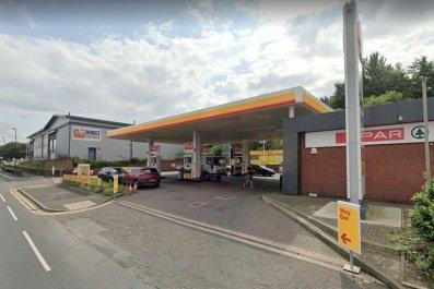 Oldham gas station