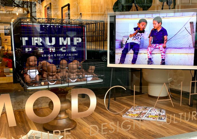 Anti-trump art
