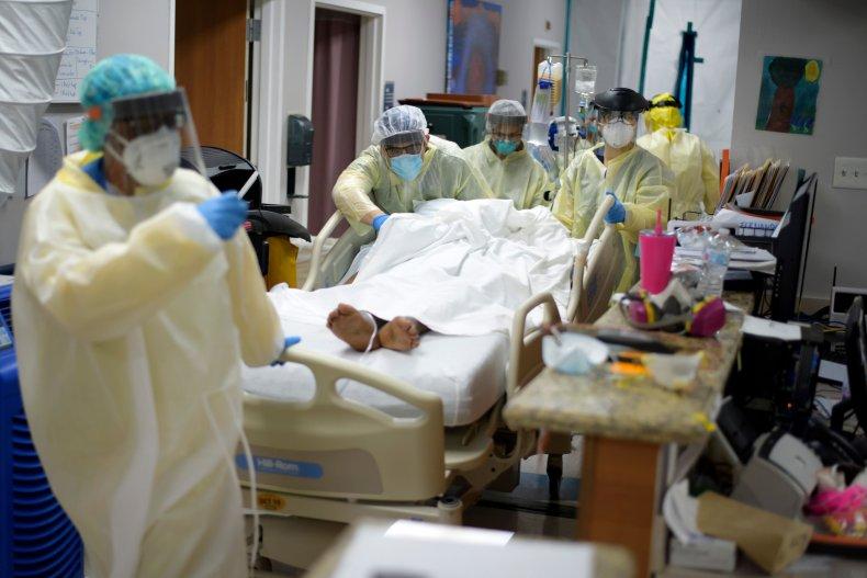 Houston Texas hospital coronavirus July 2020