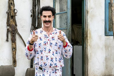 'Borat 2': Holocaust Survivor Was 'Duped'