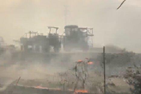 Silverado fire california irvine evacuations