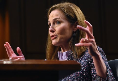 Amy Coney Barrett Supreme Court Donald Trump
